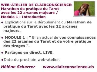 Web-Atelier de ClairConscience du 15octobre 2014