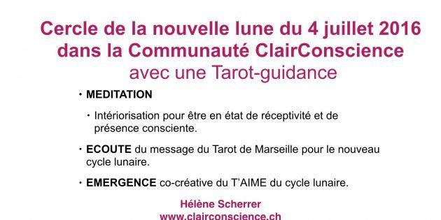 Cercle de la Communauté ClairConscience avec Helene Scherrer
