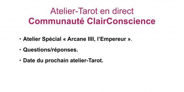 atelier-tarot-Communauté-ClairConscience