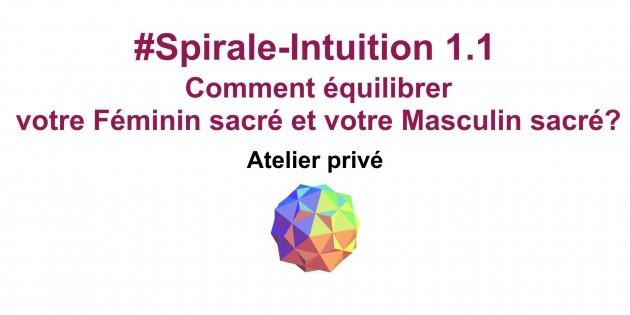 Spirale-Intuition 1.1 de la Communauté ClairConscience d'Hélène Scherrer