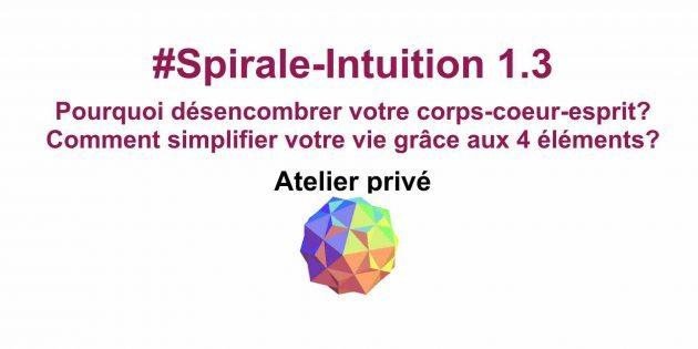 Spirale-Intuition 1.3 de la Communauté ClairConscience d'Hélène Scherrer