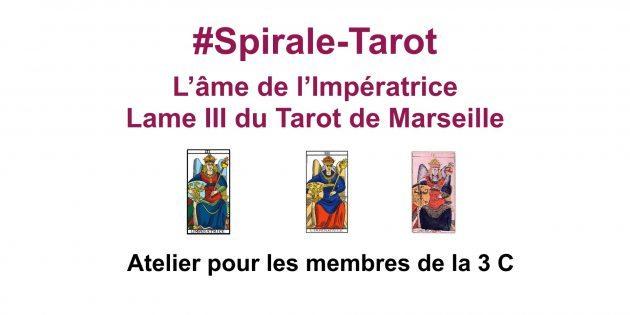 Arcane III, l'Impératrice-Communauté ClairConscience de Tarot de Marseille d'Hélène Scherrer