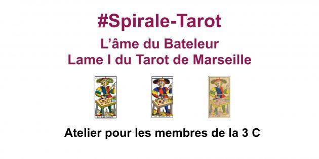 Spirale-Tarot sur l'arcane I, le Bateleur du Tarot de Marseille-Communauté ClairConscience d'Hélène Scherrer
