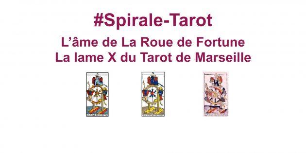 Spirale-Tarot sur l'arcane X du Tarot, la Roue de Fortune-Hélène Scherrer du site ClairConscience