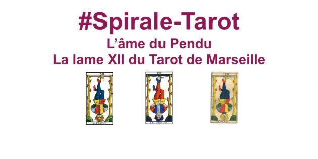 Spirale-Tarot sur l'arcane XII, Le Pendu par Hélène Scherrer du site ClairConscience