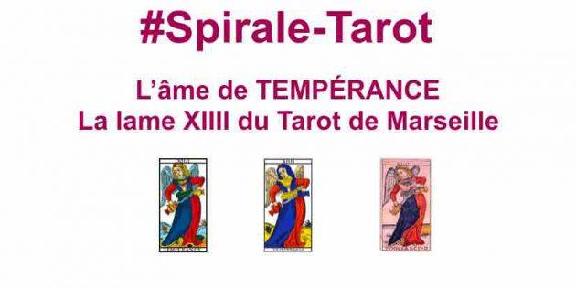 Tempérance, arcane XIIII du Tarot de Marseille