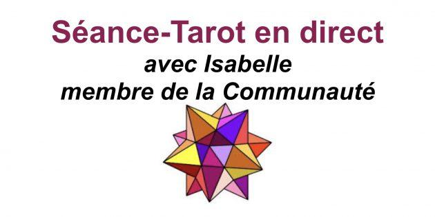 Séance-Tarot avec Hélène Scherrer