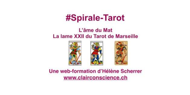 Le Mat du Tarot de ClairConscience avec Hélène Scherrer