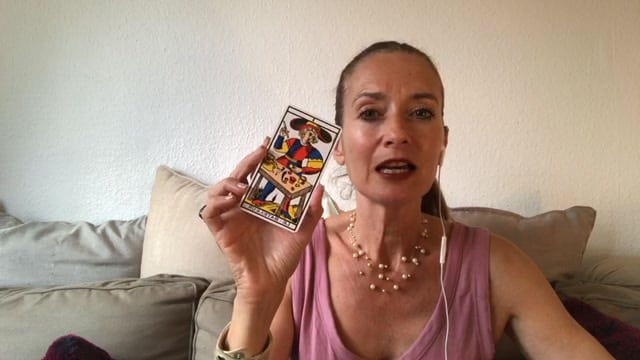 Clin d'oeil tarot-intuitif avec Helene Scherrer de la Communauté ClairConscience
