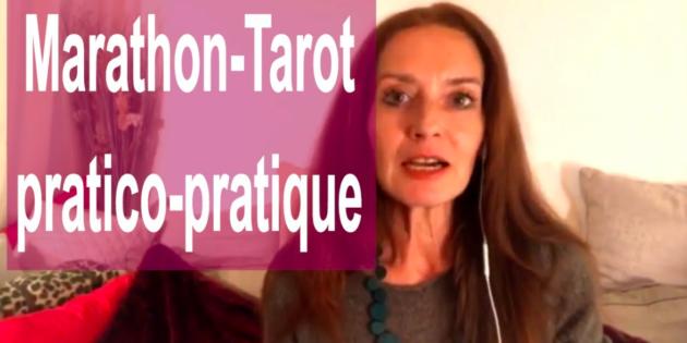 Marathon-Tarot de la Communauté ClairConscience avec Hélène Scherrer